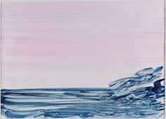 La mer, Aquarell, 1969, Jef Verheyen