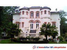 Faites votre achat immobilier entre particuliers dans les Hautes-Pyrénées avec ce château de Capvern http://www.partenaire-europeen.fr/Actualites-Conseils/Achat-Vente-entre-particuliers/Immobilier-maisons-a-decouvrir/Maisons-entre-particuliers-en-Midi-Pyrenees/Chateau-XIXe-renove-chambres-d-hotes-restaurant-jacuzzi-parc-arbore-ID-2690340-20150520 #maison