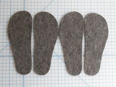 So I decided to commemorate the LONGEST winter I can remember by making myself some striped slippers from an old, holey sweater. Sweater Mittens, Old Sweater, Sweater Boots, Upcycled Sweater, Sweaters, Pullover Upcycling, Striped Slippers, Winter Slippers, Felted Wool Crafts