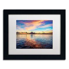 'Caribbean Sunset' by David Ayash Framed Photographic Print