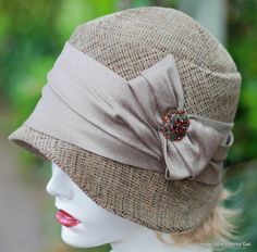 Fall Winter Season Sophisticated Style Cloche Hat Taupe