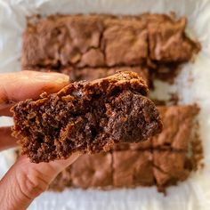 Fudgy Chocolate Brownies – healthyGFfamily.com White Chocolate Covered Pretzels, Caramel Chocolate Chip Cookies, Chocolate Butter, Best Chocolate, Chocolate Brownies, Gluten Free Pretzels, Gluten Free Cookies, Gluten Free Baking, Gluten Free Desserts