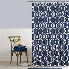 JCP HOME JCPenney HomeTM Laurel Shower Curtain