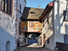Take a walk with us around Basel Old Town, one of the most well-preserved and prettiest in Europe, and be surprised by the wide variety of architecture, unpa. Basel, Tourist Information, Travel Info, Live In The Now, Modern Buildings, Zurich, Walking Tour, Old Town, Building Design