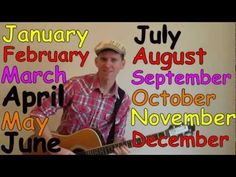 Months of the Year Song | Learn English Kids - YouTube
