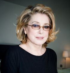 Catherine Deneuve. Beauty has nothing to do with age,