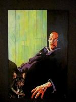 PINTURA : MANUEL LOZANO actually is my dad's portrait with Igor ouor dog, that may rest his soul in peace. :)