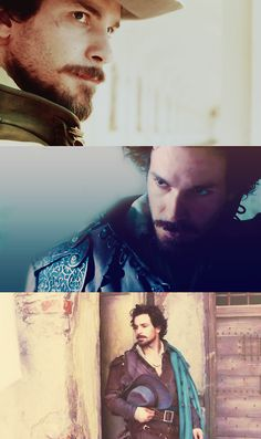 Aramis in 1x4 The Good Soldier