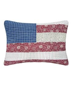 Look at this Flag Throw Pillow on #zulily today!