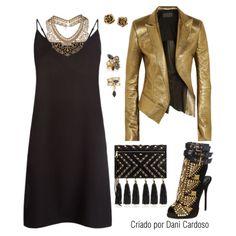 Slip Dress - Look noite