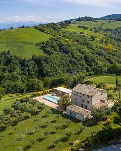 Italy Countryside, French Countryside, Italian Home, Italian Villa, Italian Mansion, Italy House, Heavenly Places, Northern Italy, Villas