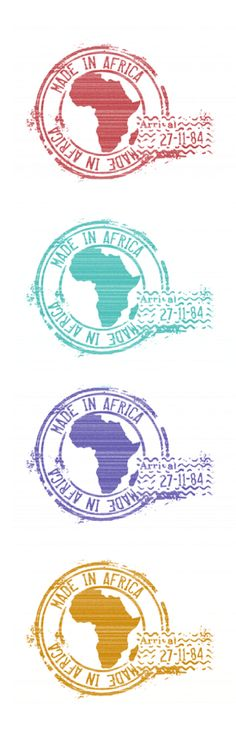 MADE IN AFRICA Stamps