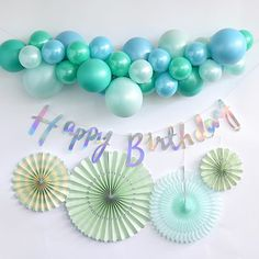 Birthday Decorations Discover Silver Happy Birthday Banner Create your perfect party set-up by shopping our Pick & Mix party range great for any party or occasion Happy Birthday Decor, Simple Birthday Decorations, Silver Party Decorations, Birthday Wall, Birthday Backdrop, Birthday Gifts For Teens, Happy Birthday Banners, Birthday Balloons, First Birthday Parties