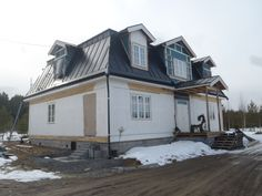 Our house - not finished yet.
