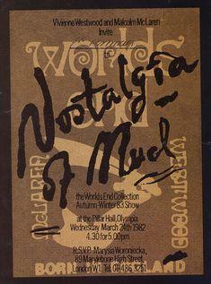 show invite | Nostalgia of Mud - Worlds End