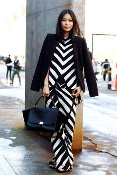 Bold, sleek and #graphic. #Zigzag