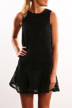 Vendetta Dress Black