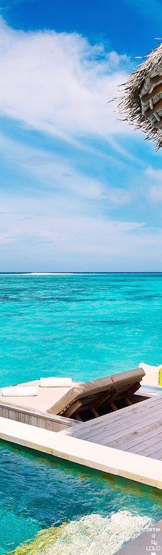 Six Senses Laamu Maldives Water Villas   LOLO❤︎