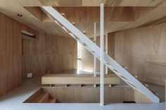 Gallery of House in Koinaka / Yutaka Yoshida Architect & Associates - 3 Staircase Handrail, Stairs, Building Layout, Rich Home, Flat Shapes, Architecture, Gallery, House, Home Decor