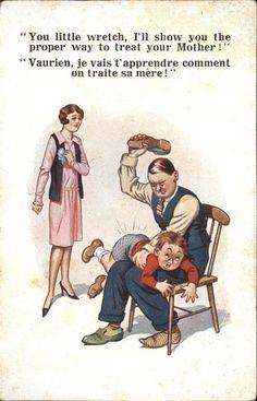 übers Knie Legen Frau