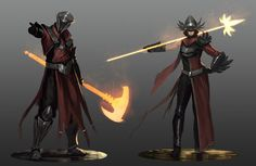Beacon - Red Knight Sketches by JoshCorpuz85 on DeviantArt