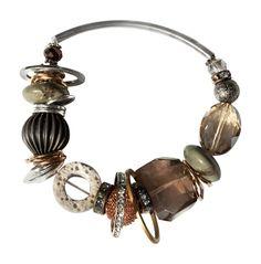 Fall Tones Bracelet by JustineBrooks on Etsy, $45.00