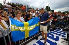 Marcus Ericsson (SWE), Sauber F1 Team. Autographs session. Circuit de Spa-Francorchamps.
