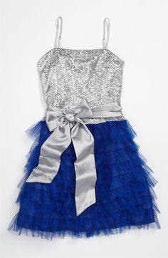 Un Deux Trois Ruffle Party Dress (Big Girls) available at #Nordstrom