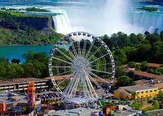 Niagara Skywheel on Clifton Hill in Niagara Falls