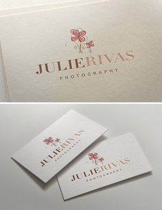 I like the placement of everything, symbol on top, big font, then small Photography Logo Design, Photography Website, Photography Business, Business Branding, Business Card Design, Corporate Branding, Personal Branding, Business Tips, Business Cards