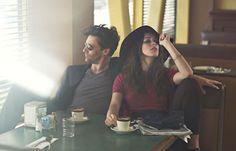 Jon Hamm and Rebecca Hall for W Magazine.
