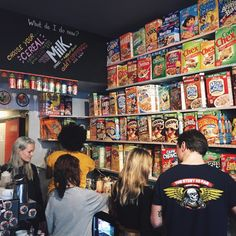 Cereal Killer Cafe in Shoreditch, Greater London