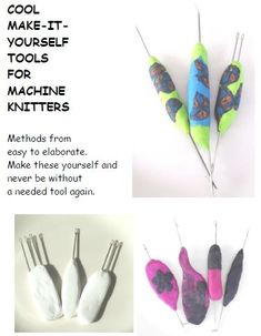 Cool DIY Tools for Machine Knitters