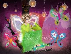 """Clochette"" Colors of Poulili© --- http://colorsofpoulili.blogspot.be/2013/09/clochette.html"