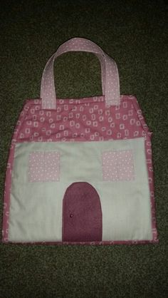 Dolls house quilt House Quilts, Diaper Bag, Dolls, Learning, Bags, Baby Dolls, Handbags, Diaper Bags, Doll