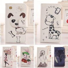 Lovely Flip PU Leather Case Protection Skin Cover For HTC Smartphone New