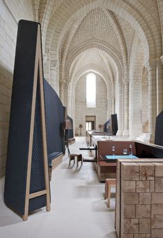 Old Monastery In Anjou Turned Into A Magnificent 4-Star Hotel - Vaulted Ceilings