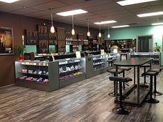 Vape Store Design, Vape Design, Vape Bar, Barber Shop Interior, Interior Design Tools, Wine Rack Design, Vape Smoke, Pc Repair, Head Shop