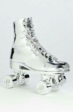 Roller Skate Sculpture available at Nordstrom Roller Skate Shoes, Quad Roller Skates, Roller Rink, Roller Derby, Roller Skating Rink, Rollers, E Skate, Casual Shoes, Fashion Shoes