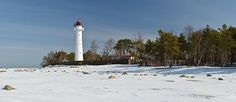 Vormsi (Saxby) lighthouse, situated in the island of Vormsi. It's built 1864 and is 24 m tall.