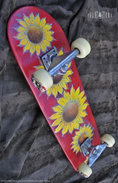 Sunflower Skateboard Complete