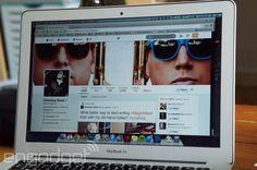Twitter's new profile design kinda looks like Facebook