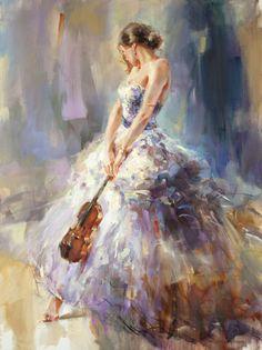 Flirting with a violin 3