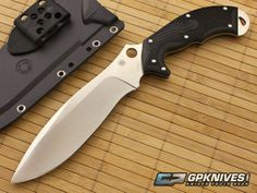Spyderco Schempp Rock Camp Knife