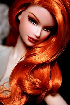 doll - beautiful red hair