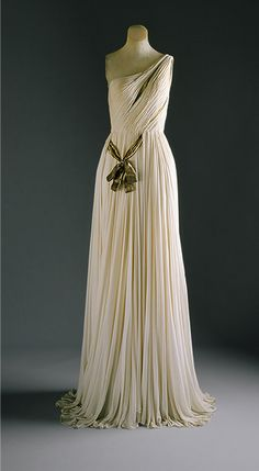 Madame Grès: Evening gown (C.I.56.60.6a,b) | Heilbrunn Timeline of Art History | The Metropolitan Museum of Art