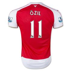 Youth 2015/16 Arsenal Mesut Özil Soccer Jersey and Shorts Set