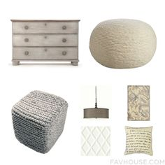 Decor Wish List Including Dresser Organic Furniture Jaipur Ottoman And Fluorescent Ceiling Light From August 2015