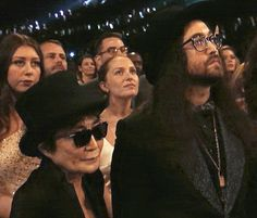 """I though it was also worth doing a separate post for the one and only Sean Lennon. Sean obviously meant a great deal to John due to the song """"Beautiful Boy (Darling Boy)"""" and the. John Lennon Yoko Ono, Sean Lennon, John Lennon Beatles, The Beatles, Paul Mccartney Ringo Starr, Grammy Awards 2014, Wife And Girlfriend, Popular Music, Beautiful Boys"""