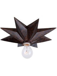 Astro Flush Mount Ceiling Light or Sconce In English Bronze | House of Antique Hardware